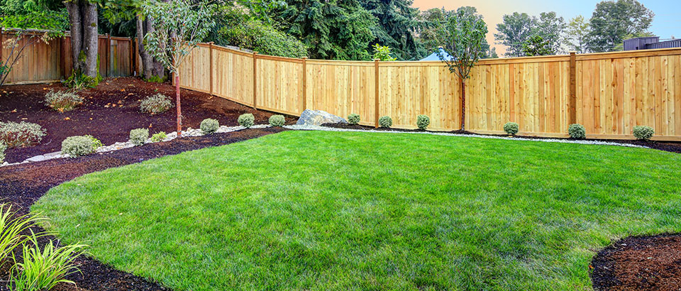 A customers garden landscaping designed by our team