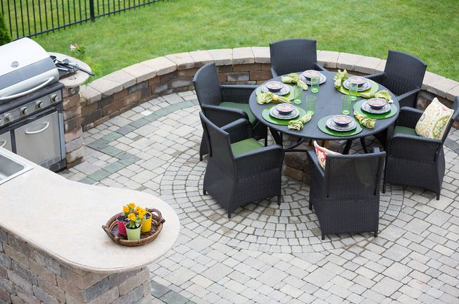Patio design and installation
