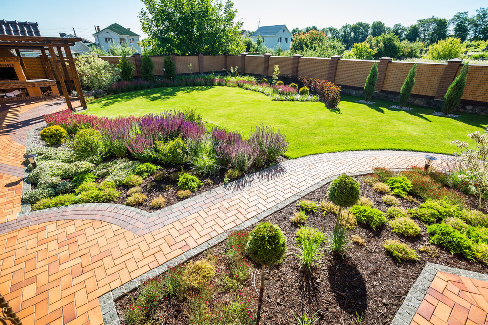 Complete landscaping and design service