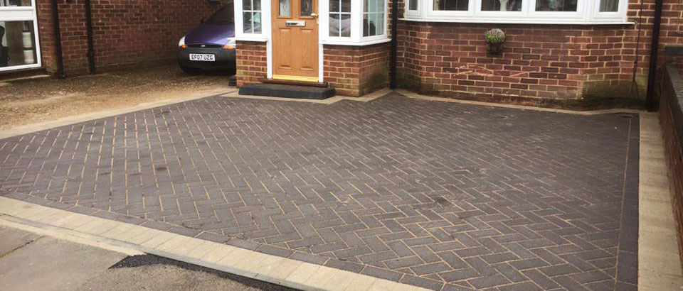 A customers front drive fitted by our team